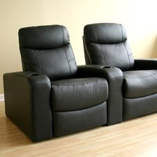 <strong>Wholesale Interiors</strong> Angus Home Theater Recliner (Row of 2)