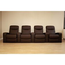 <strong>Wholesale Interiors</strong> Angus Home Theater Recliner (Row of 4)