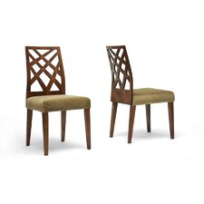 Baxton Studio Marla Side Chair (Set of 2)