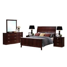 Baxton Studio Argonne King Panel Bedroom Collection
