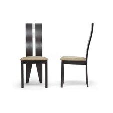 Baxton Studio Casablanca Side Chair (Set of 2)