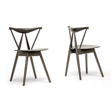 Baxton Studio Mercer Side Chair (Set of 2)
