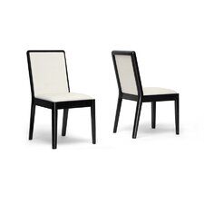 Baxton Studio Maeve Side Chair (Set of 2)