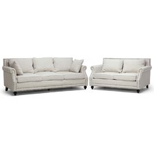 Baxton Studio Mckenna Sofa Set