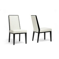 Baxton Studio Theia Side Chair (Set of 2)
