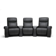 Baxton Studio Leather Home Theater Sofa