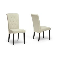 Baxton Studio Alinia Side Chair (Set of 2)