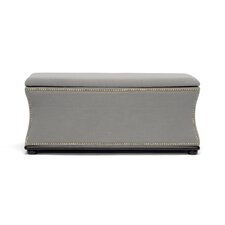 Baxton Studio Liverpool Upholstered Storage Bench