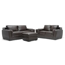 <strong>Wholesale Interiors</strong> Baxton Studio Cronus Leather Sofa Set