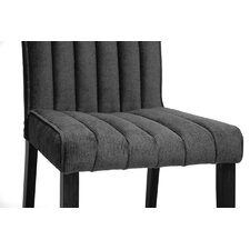 Baxton Studio Stripp Side Chair (Set of 2)