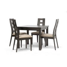 Baxton Studio Paxton 5 Piece Dining Set