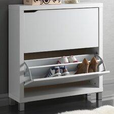Baxton Studio Simms Modern Shoe Cabinet