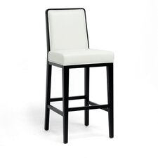 "Baxton Studio Theia 30"" Bar Stool with Cushion"
