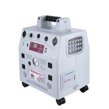 Battery Powered 1,500 Watt Generator with LED Light System, Digital Clock and Dual USB Poser Ports