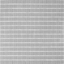 "Classic Tesserae 12-7/8"" x 12-7/8"" Glass Tile in Sea Froth"