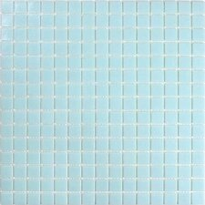"<strong>Giorbello</strong> Classic Tesserae 12-7/8"" x 12-7/8"" Glass Tile in Alaskan Blue"