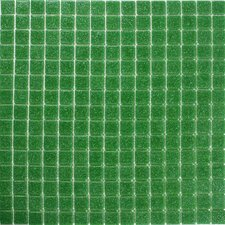 "<strong>Giorbello</strong> Classic Tesserae 12-7/8"" x 12-7/8"" Glass Tile in Green Summer"