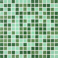 "<strong>Giorbello</strong> Tesserae Blends 12-7/8"" x 12-7/8"" Glass Tile in Sherwood Forest"