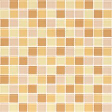 "<strong>Giorbello</strong> Cristezza Select 11-3/4"" x 11-3/4"" Mosaic Glass Tile in Honeycomb"