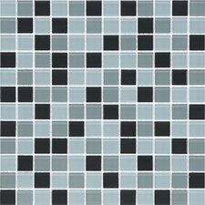 "<strong>Giorbello</strong> Cristezza Select 11-3/4"" x 11-3/4"" Mosaic Glass Tile in Contempo"