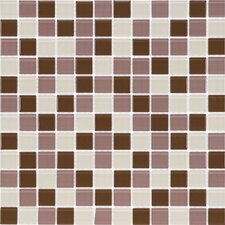"<strong>Giorbello</strong> Cristezza Select 11-3/4"" x 11-3/4"" Mosaic Glass Tile in Wine Country"