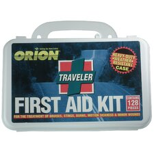 Traveler First Aid Kit (Set of 128)