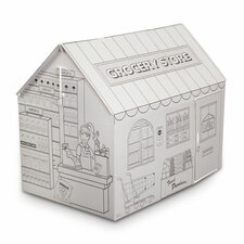 <strong>My Very Own House</strong> Grocery Playhouse with Washable Markers