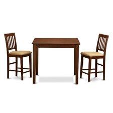 Vernon 3 Piece Counter Height Dining Set