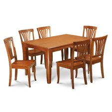 <strong>Wooden Importers</strong> Parfait 7 Piece Dining Set