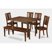 Picasso 6 Piece Dining Set