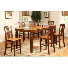 <strong>Wooden Importers</strong> Logan 7 Piece Counter Height Dining Set