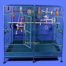<strong>A&E Cage Co.</strong> Enormous Double Macaw Bird Cage