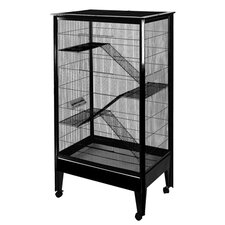 Large 4 Level Small Animal Cage on Casters