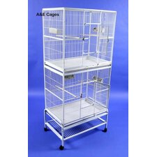 Double Flight Bird Cage