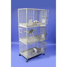 Large Triple Stack Bird Cage