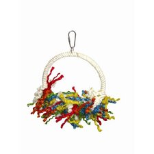 Large Rope Preening Swing