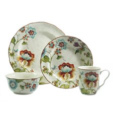 Bella Vista 16 Piece Dinnerware Set