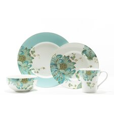 Eliza Spring 16 Piece Dinnerware Set