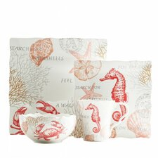 Coastal Breeze 16 Piece Dinnerware Set