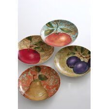 Fruit Renaissance Salad Plate (Set of 4)