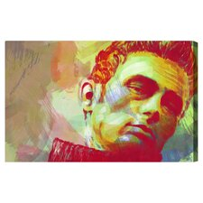 ''James Dean'' Canvas Art Print
