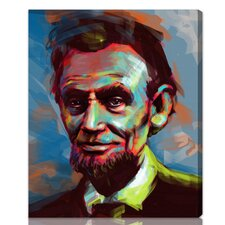 ''Lincoln'' Graphic Art on Canvas