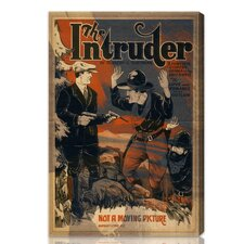 ''The Intruder'' Vintage Advertisement on Canvas