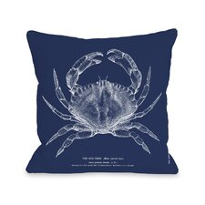 The Red Crab Pillow