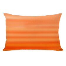 Tangerine Ombre Watercolors Pillow