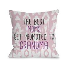 The Best Moms Grandma Pillow