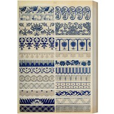 Ornaments 1867 Plate XXI Graphic Art on Canvas