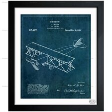 Toy Airplane 1921 Framed Painting Print