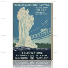 Yellowstone Vintage Advertisment on Canvas