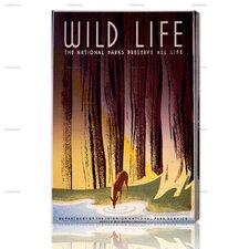 Preserve America's Wildlife Vintage Advertisment on Canvas
